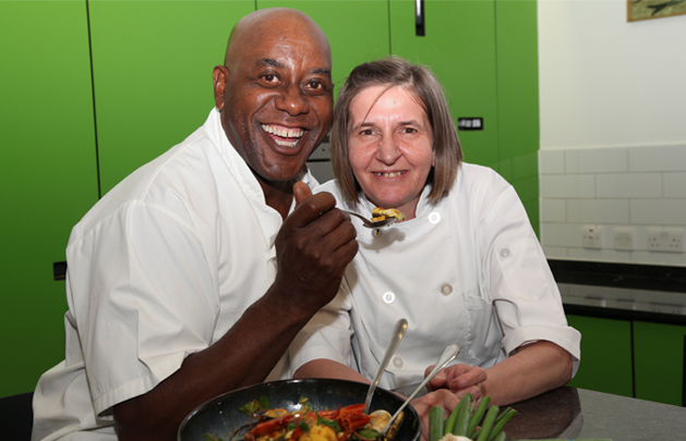Honey lane care home with Ainsley Harriott