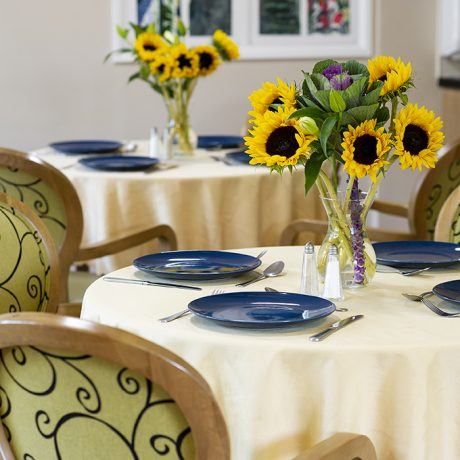 Spacious Dining Rooms In Honey Lane Care Home