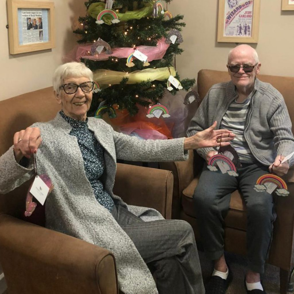 Giving Thanks At Christmas At Honey Lane Care Home